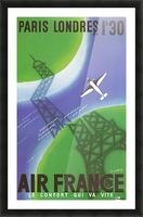 Paris Londer Picture Frame print