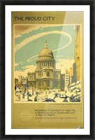 The Proud City Picture Frame print