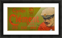 Clement Paris Cycles Picture Frame print