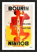 Bourin Picture Frame print
