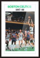 1987 Boston Celtics Larry Bird Poster Picture Frame print
