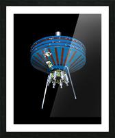 NASA Pioneer SatPioneer 1 Satellite Outer Space Image Space Imageellite Replica Picture Frame print