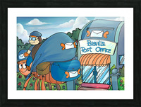 At the Post Office - Places in Bugville Collection 1 of 4 Picture Frame print