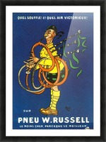 Pneu W.Russell Picture Frame print
