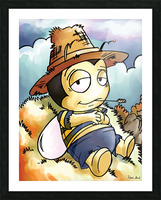 Its Country Buster Picture Frame print