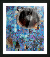 Mama Frustratedly Tells Her Children to Stay Close Picture Frame print