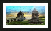 Height of Land Picture Frame print