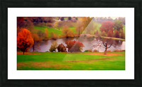 Fall Day at the University of Kansas Picture Frame print