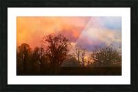 September Storm  Picture Frame print