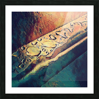 Water Drops Picture Frame print