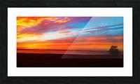 Lake Sky Picture Frame print