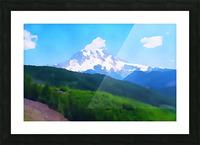 Mt. Ranier Picture Frame print