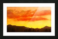 california sky Picture Frame print