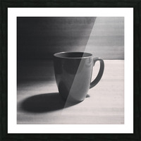 coffee mug Picture Frame print