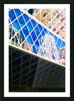 seattle downtown Picture Frame print