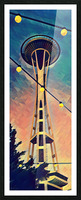 seattle space needle Picture Frame print