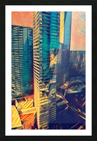 las vegas reflections Picture Frame print