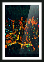 seattle at night Picture Frame print