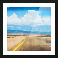 the road ahead Picture Frame print