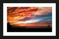 majestic sky Picture Frame print