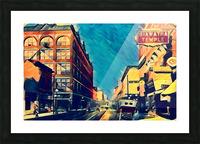 1915 st paul wabasha street Picture Frame print