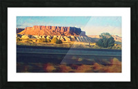 new mexico highway Picture Frame print