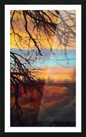 winter blast Picture Frame print