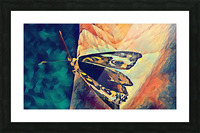 butterfly art Picture Frame print