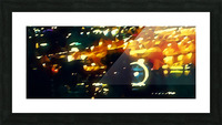seattle at night great wheel Picture Frame print