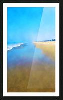 Manhattan Beach Pathway Picture Frame print