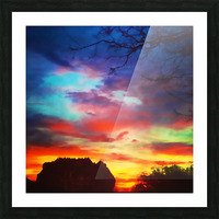Bounty of Color Picture Frame print