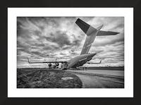 C 17 Globemaster Picture Frame print