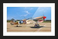 P 40 Warhawk Picture Frame print
