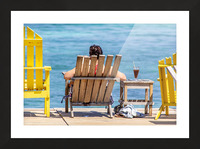 Ambergris Caye 4 Picture Frame print
