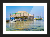 Ambergris Caye 3 Picture Frame print
