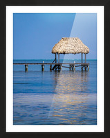 Ambergris Caye 2 Picture Frame print