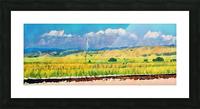 colorado skies Picture Frame print