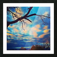 broken beauty Picture Frame print