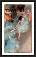 The Greens dancers by Degas Picture Frame print