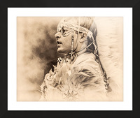 Native American 6 Picture Frame print
