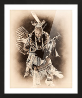 Native American 14 Picture Frame print