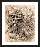 Native American 2 Picture Frame print