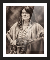 Native American 5 Picture Frame print