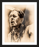 Native American 15 Picture Frame print