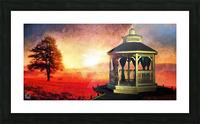 Backyard Picture Frame print