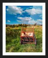 Donegal 4 Picture Frame print