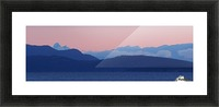 Pink And Blue by Randy Hall Picture Frame print