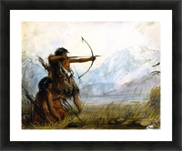 Children of the Snake Tribe Picture Frame print