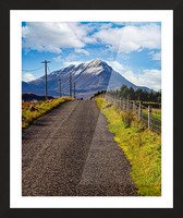 Errigal 1 Picture Frame print