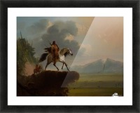 Wild West Picture Frame print